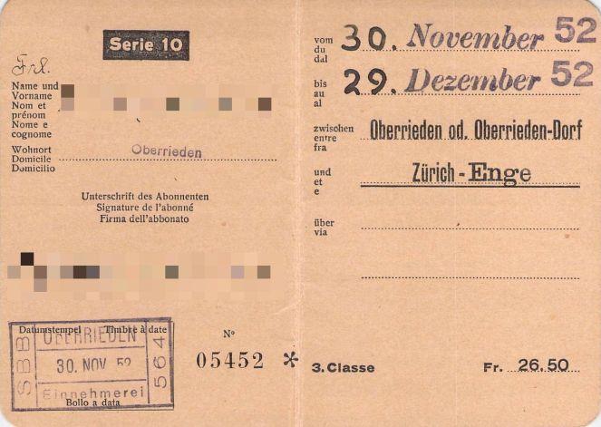 SBB-Monatsabo-1952-Seite-1